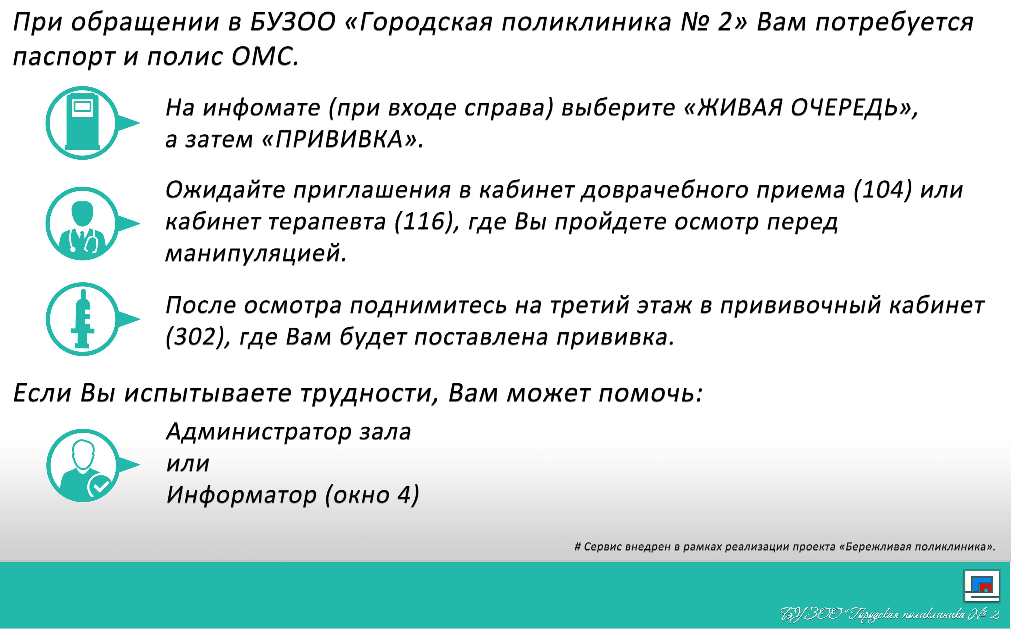 Прививка БУЗОО ГП2
